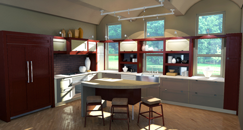 Amazing Google SketchUp Kitchen Design 500 x 269 · 137 kB · jpeg